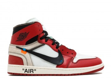 "THE 10 : NIKE AIR JORDAN RETRO 1 ""OFF WHITE"""