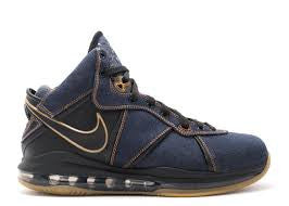 NIKE LEBRON 8 PE DENIM USED