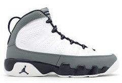 GIRLS JORDAN RETRO 9 IMPERIAL PURPLE COOL GREY PRESCHOOL PS