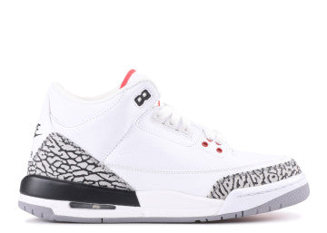 NIKE AIR JORDAN RETRO 3 '88 WHITE CEMENT GS