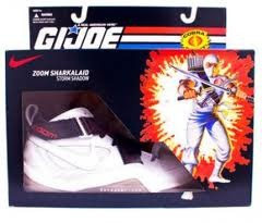 NIKE ZOOM SHARKLAND GI JOE - STORM SHADOW