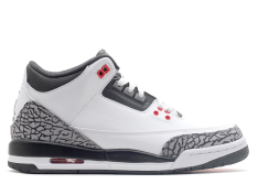 AIR JORDAN RETRO 3 WHITE INFRARED GS