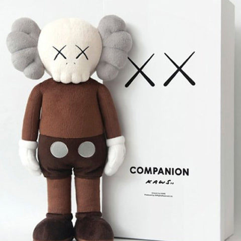 "KAWS PLUSH COMPANION ""CLEAN SLATE"""