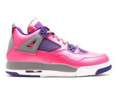 GIRLS AIR JORDAN RETRO 4 PINK GS