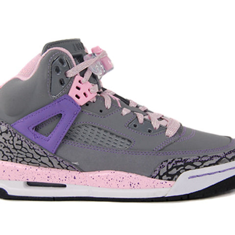 GIRLS AIR JORDAN SPIZIKE GREY PURPLE GS