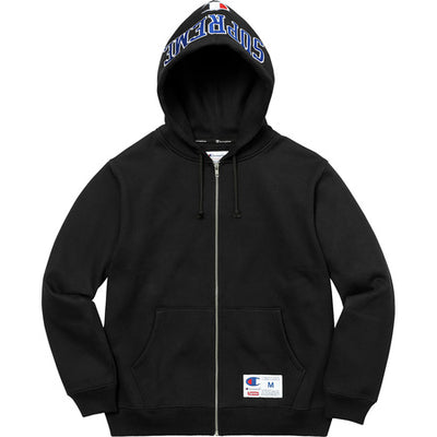 SUPREME CHAMPION ARC LOGO ZIP UP
