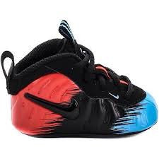 NIKE FOAMPOSITE PRO SPIDERMAN SOFT BOTTOM CRIB TD