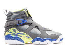 GIRLS AIR JORDAN RETRO 8 COOL GREY LANEY GS