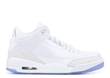 AIR JORDAN RETRO 3 WHITE