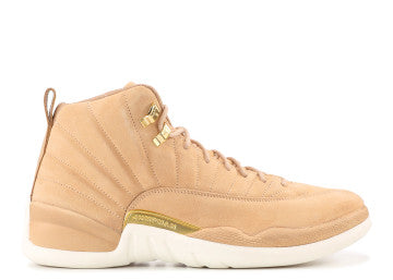 WMNS AIR JORDAN RETRO 12 TAN READY TO SHIP