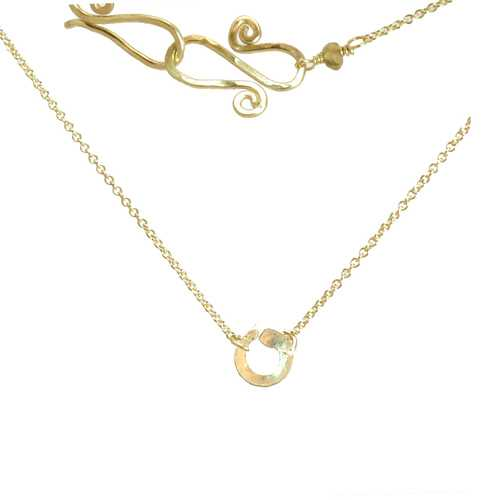 Necklace 378 - Gold