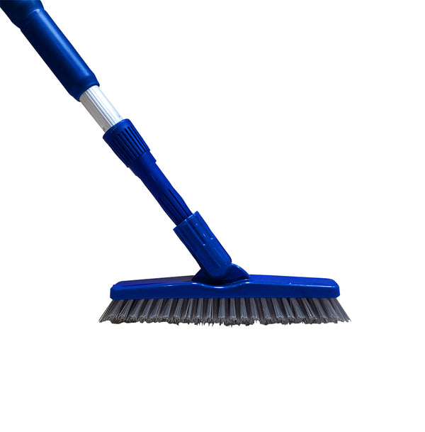 Bring It On Grout Scrub Brush Plus Extension Pole