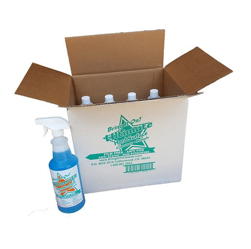Case of 12 - 32 oz. Bottles of Ultimate Hard Surface Cleaner