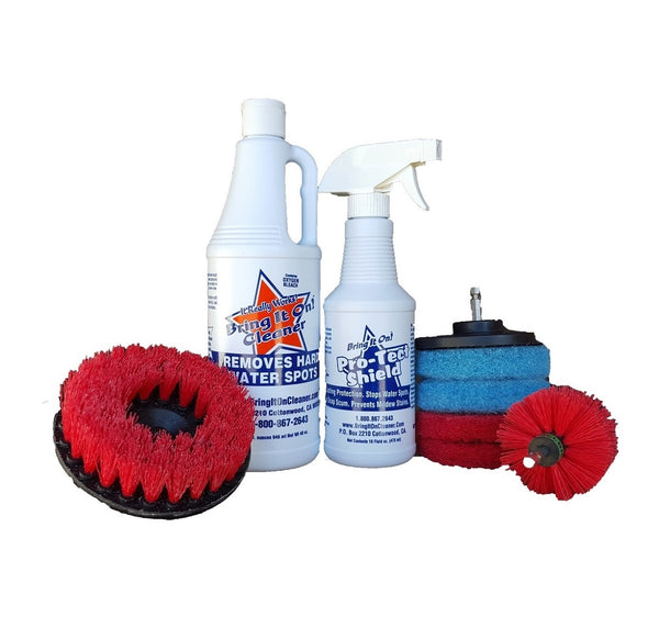 Hard Mineral Remover, Mold and Mildew Remover
