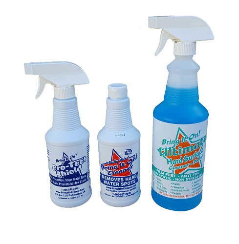 Bathroom and Kitchen Cleaning Kit Small Set
