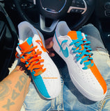 "Air Force One  Low ""Miami Dolphins""  Gs/Men"