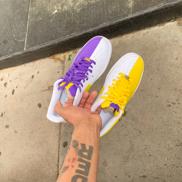 "Air Force one low ""Lakers"" GS/MEN"
