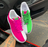 "Air Force One Low ""PINK GREEN"" GS/MEN"