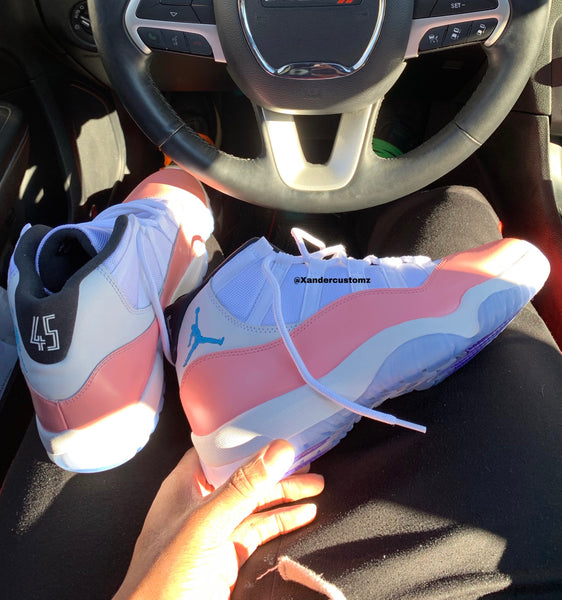 "Jordan 11 ""pink white "" Men/Gs"