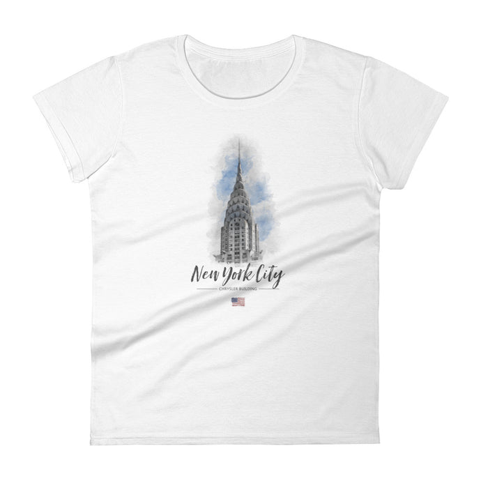 NYC - Chrysler Building (Watercolor / Women)