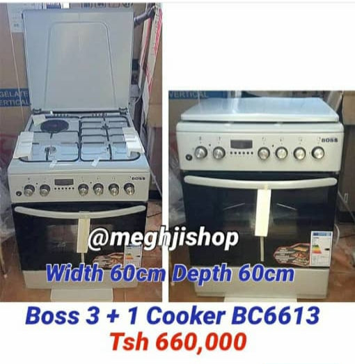 Boss 3Gas+1Electric Cooker – BC6631