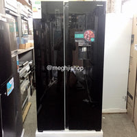 Hisense Side By Side Fridge H670SMBI WD
