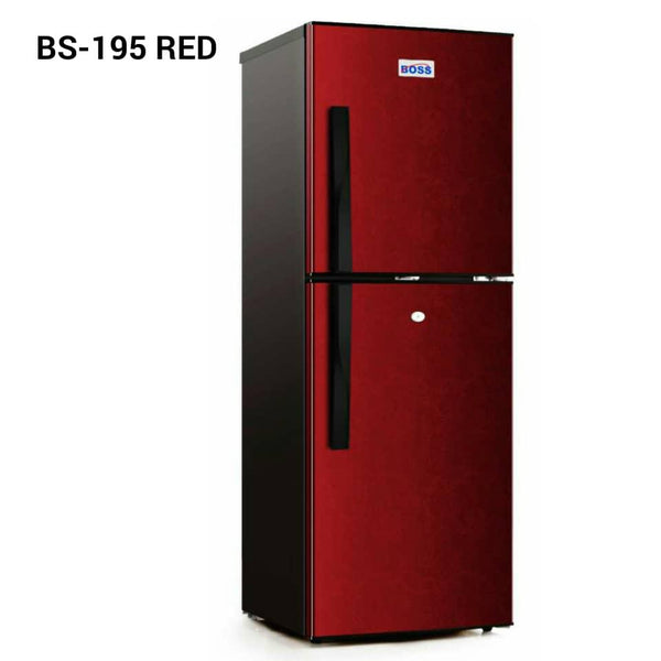 Boss Double Door Fridge - BS195