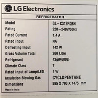 LG Double Door Fridge Non Frost - GLC312