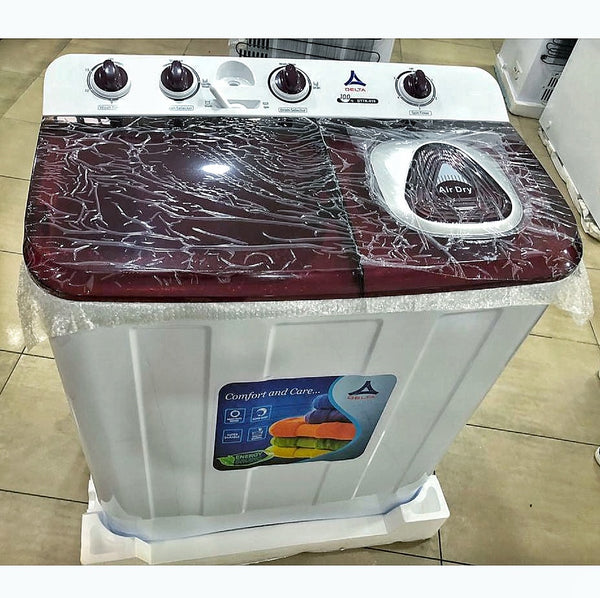 Delta 10kg Twin Tub Washing Machine DTTK-010