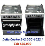 Delta 2 Gas + 2 Electric Plate Cooker 60x60 DGC-6022.I