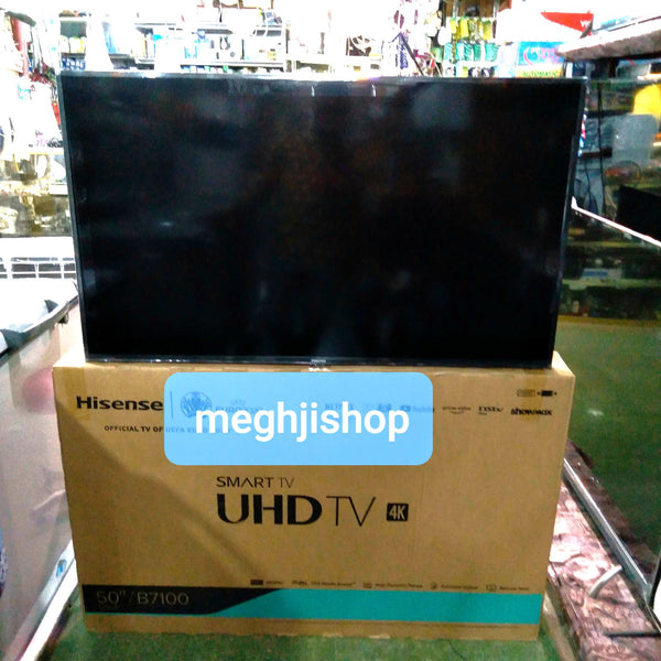 "Hisense 50"" 4K UHD SMART LED TV 50B7100"