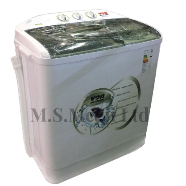 Von 7KG  Twin Tub Washing Machine  - VALW-7MLW