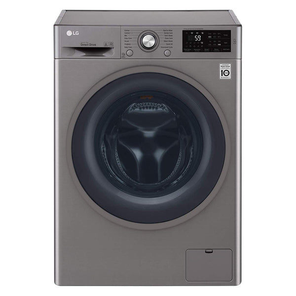 LG 8KG Front Load Automatic Washing Machine- F4J6TNP8S