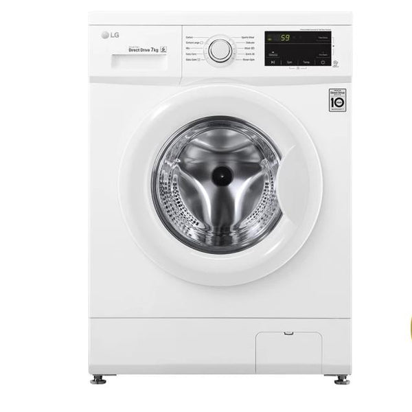 LG 7kg Front Load Automatic Washing Machine- FH2J3QNP0