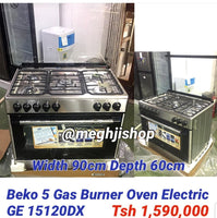 Beko 5 Gas Burner with Electric Oven GE15120DX