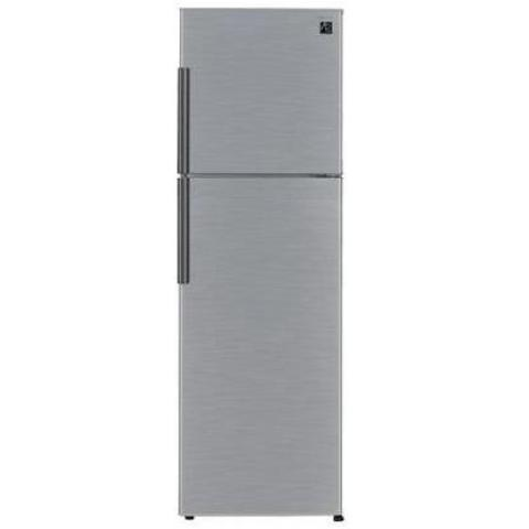 Sharp Double Door Fridge Non Frost 258 Liter-SJ-K355SA-SS