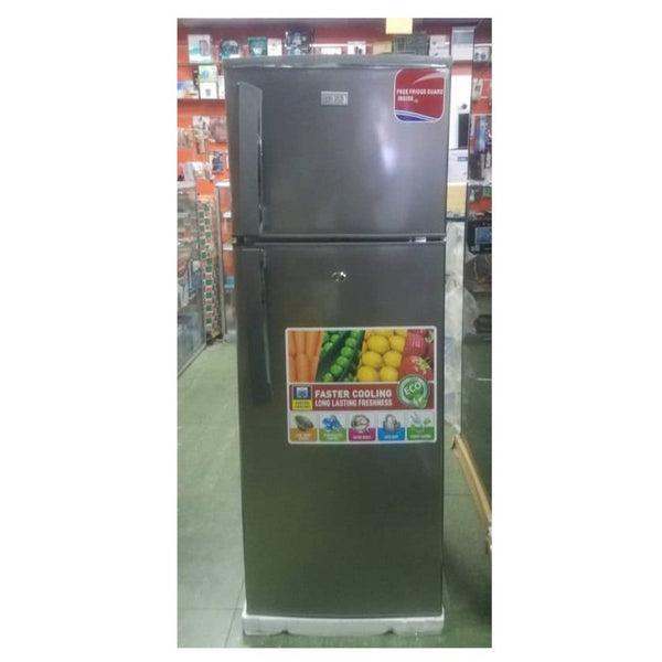 Boss Double Door Fridge - BS202 SVR