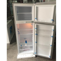 Boss Double Door Fridge - BS202 Silver