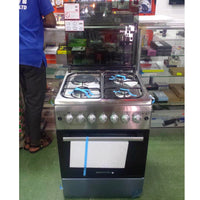 Westpoint 3 Gas + 1 Electric Cooker - WCER6631 Inox