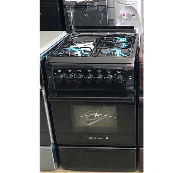 Westpoint 3 Gas + 1 Electric Cooker 50x50cm - WCER5531blk