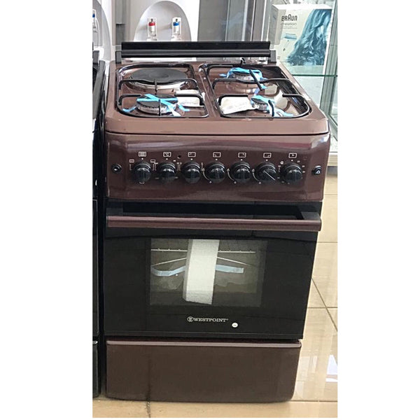 Westpoint 3 Gas + 1 Electric Cooker 50x50cm - WCER5531br