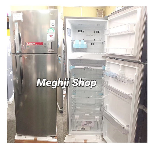 LG Double Door Fridge Non Frost  - GLC442RLCN