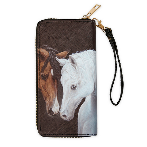 AWST International Horse Head Wallet