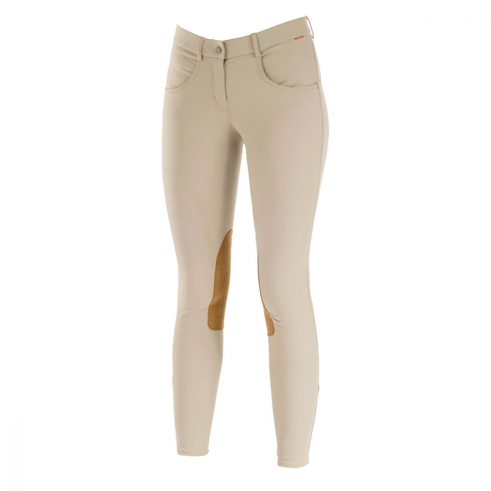 B Vertigo Melissa Women's Knee Patch Breeches - Equitique-USA