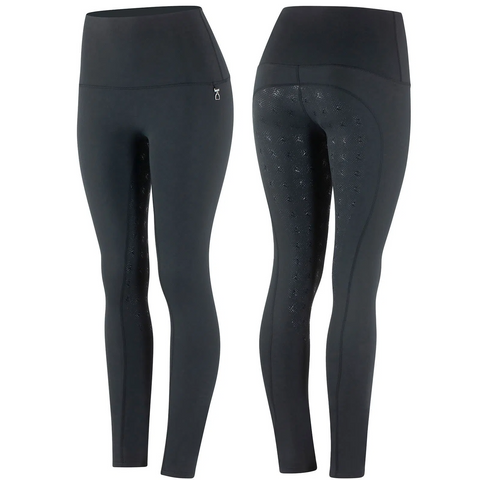 Horze Women's Julienne Compression Tights Silicone Full Seat