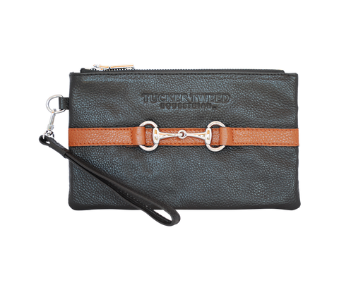 Tucker Tweed Wellington Wristlet - Equitique-USA