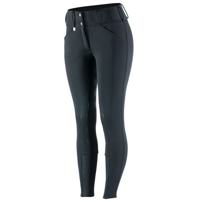 Horze Grand Prix Women's Thermo Softshell Silicone FS Breeches - Equitique-USA