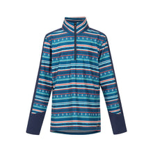 Load image into Gallery viewer, Kerrits Kids Fair Isle Fleece Tech Top