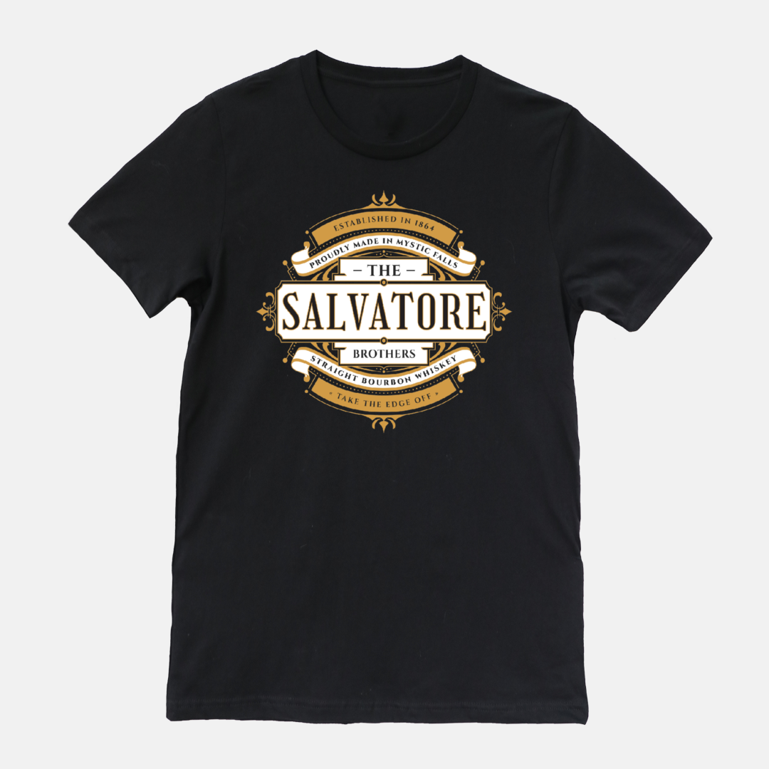 """Salvatore Bourbon"" Vampire Diaries T-Shirt"