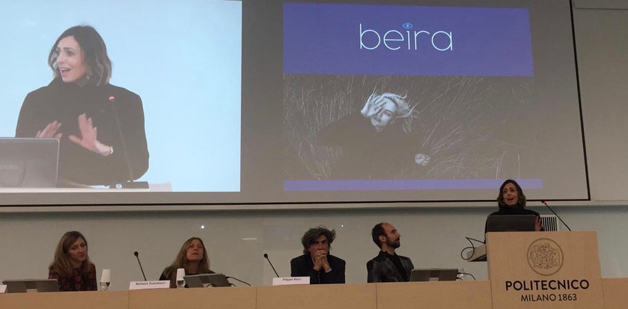 Beira keynote at Responsible Luxury Summit in Milan